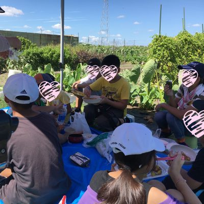 9月8日農業クラブ-落花生の収穫-ランチ