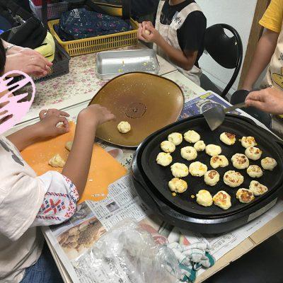 8月27日料理教室中華風おやき作り