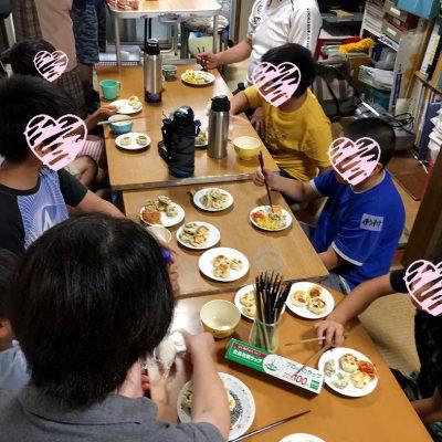 8月27日料理教室いただきました!