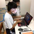 ノートPCでタイピングの練習